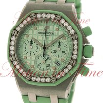 "Audemars Piguet Royal Oak Ladies Chronograph ""Mint..."