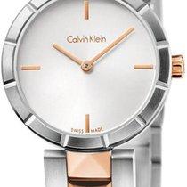 ck Calvin Klein Edge K5T33BZ6 Damenarmbanduhr Schmuckband