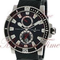 Ulysse Nardin Maxi Marine Diver 45mm, Black Dial - Titanium...