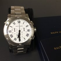 Ralph Lauren STEEL CASE  WHT/DIAL WATCH