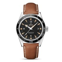 Omega Seamaster Steel Black Dial Mens Watch 233.32.41.21.01.00...