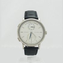 A. Lange & Söhne 385.026 Saxonia Dual Time White Gold 40mm
