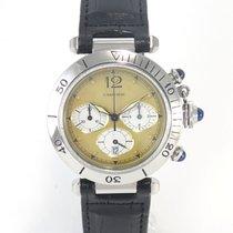 Cartier Pasha Chrono ref 1032 yellow dial