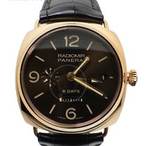 Panerai Radiomir GMT 8 Days Limited 500 Pieces Pre-Owned PAM...