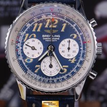 breitling aviator watch prices l41z  Breitling Navitimer Twinsixty Chronograph 41mm A39022 Blue