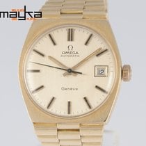 Omega Automatic Geneve 1972 Yellow Gold 18K 32.5mm Caliber 1481