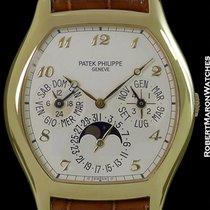 Patek Philippe 5040j 18k Tonneau Automatic Perpetual Calendar