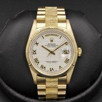 Rolex Day-Date - 18248 - Bark - White Roman Dial - T Serial -...