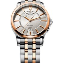 Maurice Lacroix Pontos Day Date Two Tone in Steel and Rose Gold
