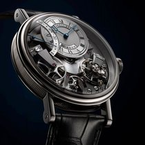 Breguet [NEW] Tradition 7097 7097BB/G1/9WU White Gold Watch