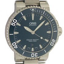 Oris Aquis Date Stahl Automatik Armband Stahl 43mm