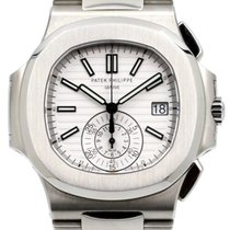 Patek Philippe Nautilus 5980/1A-019 White Stainless Steel 40mm...