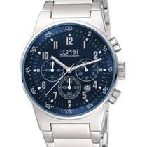 Esprit Herrenuhr ES000T31023 equalizer blue metal chrono