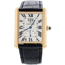 Cartier Men's Cartier Tank Louis XL Power Reserve 18K Rose...