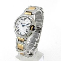 Cartier Ballon Bleu 28mm Steel & 18K Yellow Gold Watch