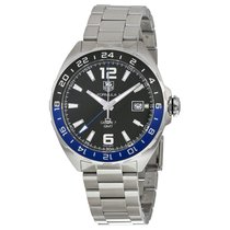 TAG Heuer Formula One Automatic Black Dial Stainless Steel...