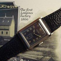 Longines rectangular watch ON SALE ca. late 1930's - cal....