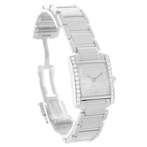 Cartier Tank Francaise Small 18k White Gold Diamond Watch...