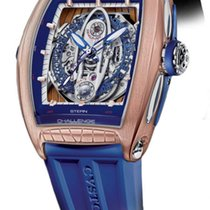 Cvstos Challenge Sealiner Men's Watch, Bicolor Red Gold 5N...