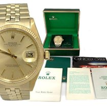 Rolex Mens Vintage Rolex Oyster Perpetual Date 1971 14k Yellow...