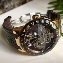 Ulysse Nardin El Toro GMT Perpetual Calendar 18 K Rose Gold