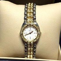 Chopard Gstaad 18k Solid Gold & Ss Ladies Watch W/ Diamond...