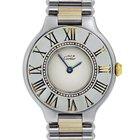 Cartier Must De 21 Two Tone Quartz Ladies Watch