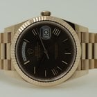 Rolex Day Date 40 Everose Gold Chocolate Dial 40