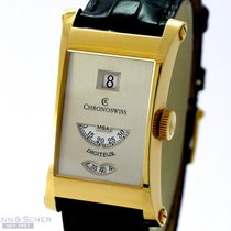 Chronoswiss Digiteur Ref-CH137SI 18k Yellow Gold Box Papers...