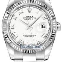 勞力士 (Rolex) Datejust 36mm Stainless Steel 116234 White Roman...