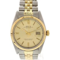 Rolex Men's Rolex Datejust 18K Yellow Gold / SS 1601