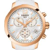Tissot Quickster Chronograph Perlmutt rosè Neu new