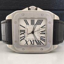 Cartier Santos 100 Extra Large 2 Pulseiras Com Certificado
