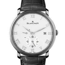 Blancpain Men's 6606112755B Villeret Small Seconds Watch