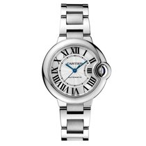 Cartier Ballon Bleu 33 mm Automatic No Date Ladies watch W6920071