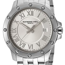 Raymond Weil Tango Stainless Steel Mens Watch Silver Dial...