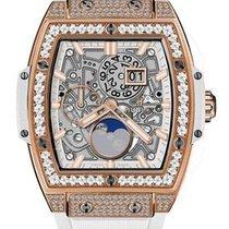 Hublot : 42mm Spirit of Big Bang King Gold White Pave Watch