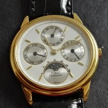 Piaget PERPETUAL CALENDAR TRIPLE DATE MOONPHASES YELLOW GOLD  NOS