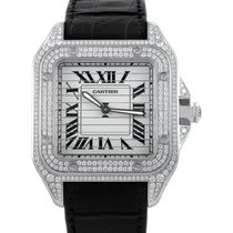 Cartier Santos 100 Mens Manually Wound Automatic Watch 3229A