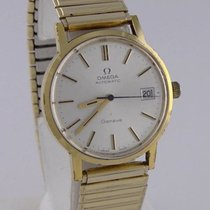 Omega Mens Omega Geneve Gp Stretch Automatic Date Oyster Dial...