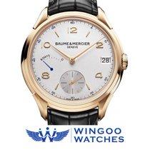Baume & Mercier Clifton 8 days PW Watch Men Manual Round...