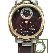 Anonimo Firenze Dual Time Limited edition Gold drass 100% NEW