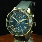 IWC Aquatimer 18kt 750 Gold Chronograph Inkl Box & Papiere...