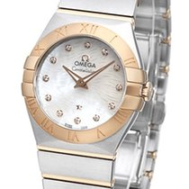 Omega Constellation Polished Quarz Small Pluma