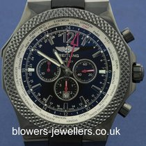 Breitling Bentley GMT Midnight Carbon Ref: M47362