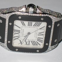 Cartier Santos 100 XL Automatic Diamonds