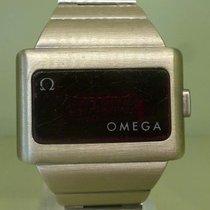 Omega vintage working TIME COMPUTER 2 steel RARE 1975 led