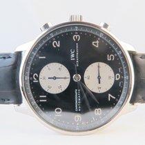 IWC Portuguese Chronograph Black Dial