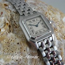 Cartier Panthere Damenuhr - Lady Modell Ref. 1320 - (Stahl /...