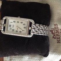 Hermès Montre NANTUCK Dame Or gris 18K SRT